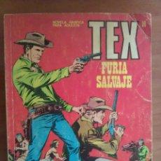 Cómics: TEX Nº 14 FURIA SALVAJE. Lote 181530277