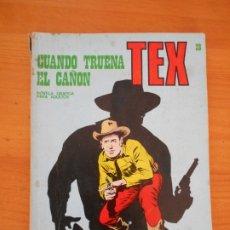Cómics: TEX Nº 28 - CUANDO TRUENA EL CAÑON - BURU LAN (7Y). Lote 181542056