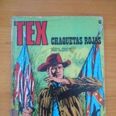 Cómics: TEX Nº 42 - CHAQUETAS ROJAS - BURU LAN - LEER DESCRIPCION (8X). Lote 181542306