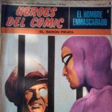 Cómics: EL HOMBRE ENMASCARADO -BURU LÁN- Nº 6- EL BARÓN PIRATA-GRAN RAY MOORE-1971-CORRECTO-LEAN- 2277. Lote 181603332