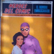 Cómics: EL HOMBRE ENMASCARADO-BURU LÁN- Nº 16 -Z.O.Z. ARTÍCULOS RURALES-1971-RAY MOORE-BUENO-ESCASO--2278. Lote 181606360
