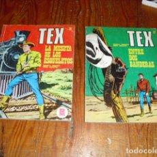 Cómics: TEX 2 EJEMPLARES NUMS. 27 Y 30 - EDITORIAL BURULAN. Lote 181903571