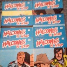 Cómics: HALCONES DE ACERO, 17 NÚMEROS BURULAN. Lote 182197390