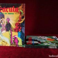 Comics : COMPLETA 3 TOMOS DRACULA ESTEBAN MAROTO , BURU LAN , 1974 , BUEN ESTADO GENERAL.. Lote 182347448