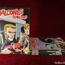 Cómics: COLECCION COMPLETA 1 AL 6 HALCONES DE ACERO J. DIXON , BURU LAN , 1974 , BUEN ESTADO GENERAL . Lote 182349751