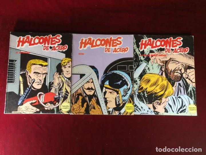 Cómics: COLECCION COMPLETA 1 AL 6 HALCONES DE ACERO J. Dixon , Buru Lan , 1974 , Buen Estado general - Foto 2 - 182349751