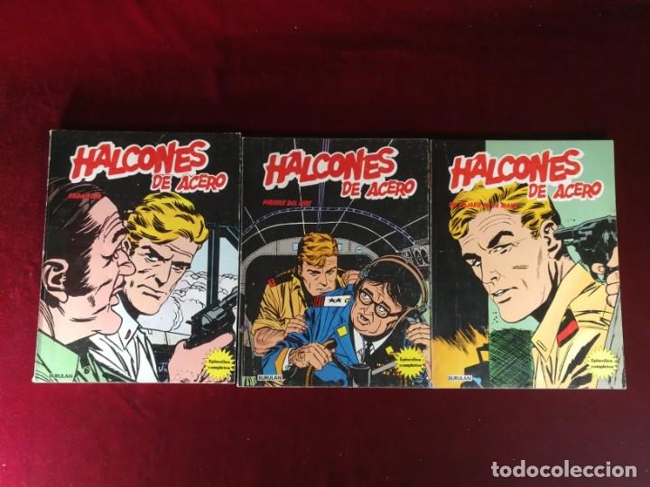 Cómics: COLECCION COMPLETA 1 AL 6 HALCONES DE ACERO J. Dixon , Buru Lan , 1974 , Buen Estado general - Foto 3 - 182349751