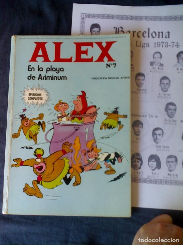 ALEX PLAYA ARIMINUM Nº 7 (LEER RAREZA COLECCIONISTA) BURU LAN EDICIONES REGALO FUTBOL LIGA 1973 74 (Tebeos y Comics - Buru-Lan - Otros)