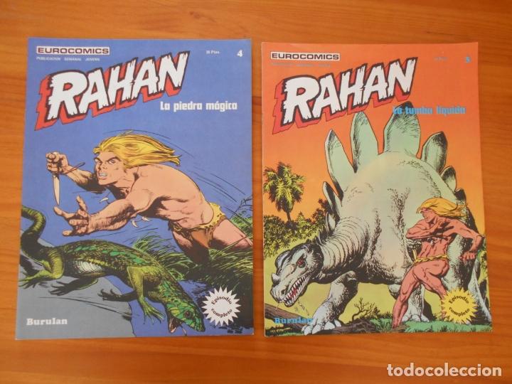 Cómics: RAHAN Nº 1, 2, 3, 4, 5 Y 6 - EUROCOMICS - BURULAN - LEER DESCRIPCION (A1) - Foto 4 - 182467116