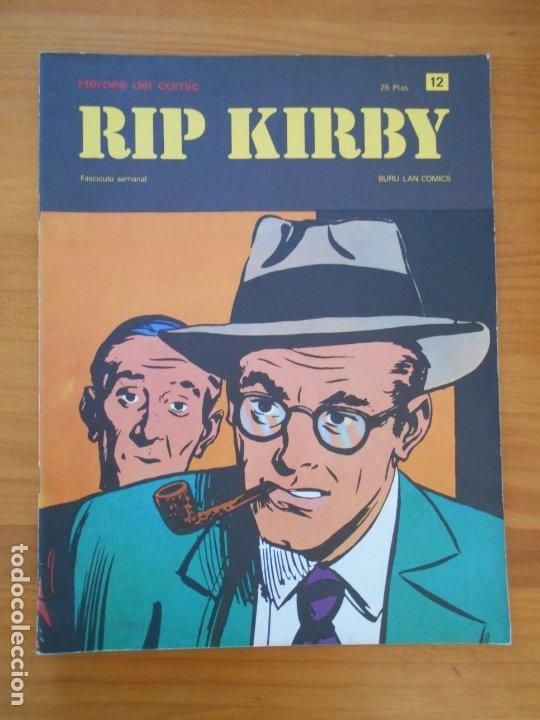RIP KIRBY Nº 12 - HEROES DEL COMIC - BURU LAN (AN) (Tebeos y Comics - Buru-Lan - Rip Kirby)