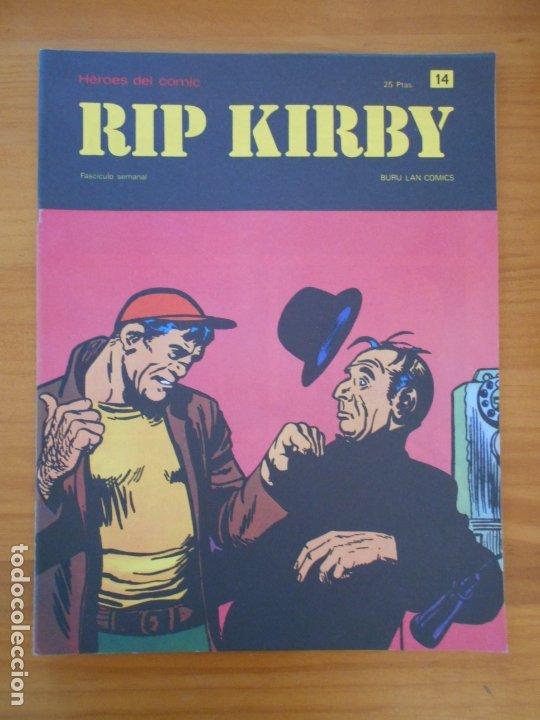 RIP KIRBY Nº 14 - HEROES DEL COMIC - BURU LAN (AN) (Tebeos y Comics - Buru-Lan - Rip Kirby)