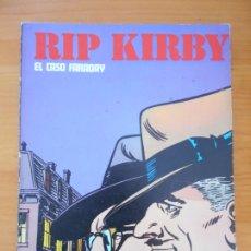 Cómics: RIP KIRBY - EL CASO FARADAY - BURULAN (AL). Lote 182480091