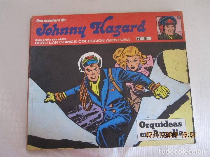 JOHNNY HAZARD Nº 2 BURU LAN COMICS ORQUIDIAS EN ARGELIA (Tebeos y Comics - Buru-Lan - Otros)