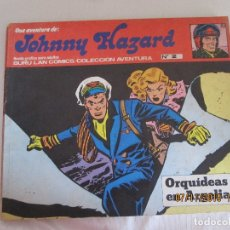 Cómics: JOHNNY HAZARD Nº 2 BURU LAN COMICS ORQUIDIAS EN ARGELIA. Lote 182593536