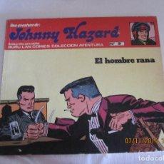 Cómics: JOHNNY HAZARD Nº 3 BURU LAN COMICS EL HOMBRE RRANA . Lote 182613926