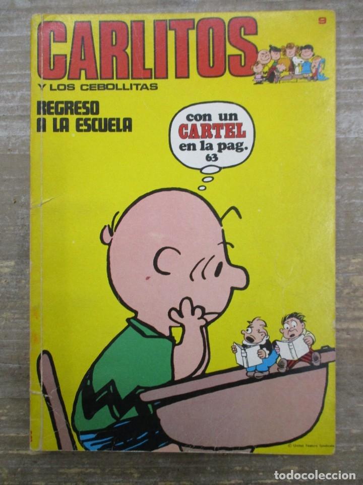 CARLITOS Y SNOOPY / LOS CEBOLLLITAS - Nº 9 - BURU LAN - BURULAN (Tebeos y Comics - Buru-Lan - Otros)