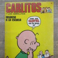Cómics: CARLITOS Y SNOOPY / LOS CEBOLLLITAS - Nº 9 - BURU LAN - BURULAN . Lote 182676421