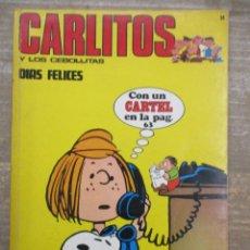 Cómics: CARLITOS Y SNOOPY / LOS CEBOLLLITAS - Nº 14 - BURU LAN - BURULAN . Lote 182676528