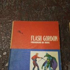 Cómics: FLASH GORDON TOMOS 1 Y 2, PRISIONERO DE MING Y LA REINA DESIRA, BURULAN 1971. Lote 182689988