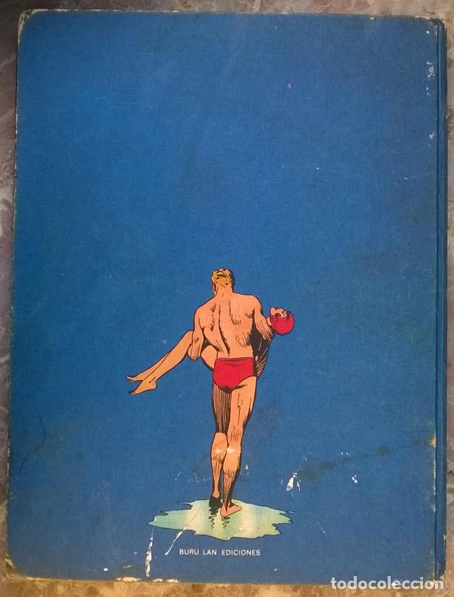 Cómics: Flash Gordon, La caverna subterránea. Tapa dura, tomo 4. Buru Lan 1972 - Foto 2 - 182710087