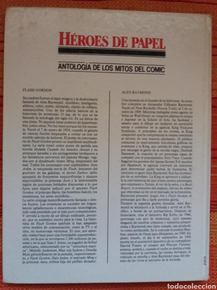 Cómics: HÉROES DE PAPEL -FLASH GORDON- - Foto 5 - 182809290