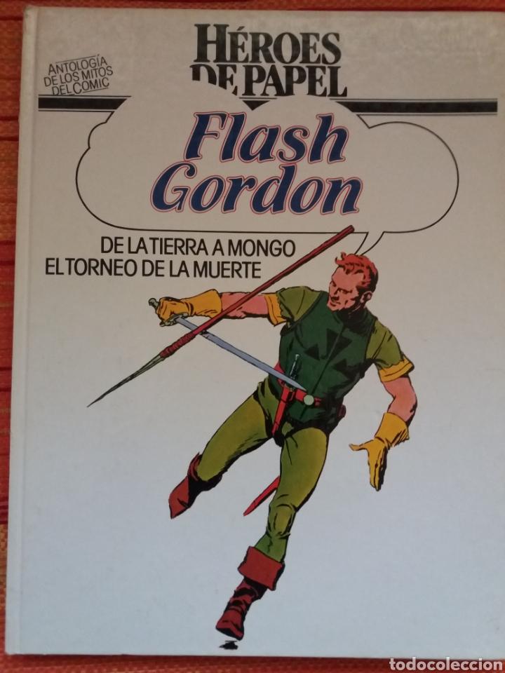 HÉROES DE PAPEL -FLASH GORDON- (Tebeos y Comics - Buru-Lan - Flash Gordon)