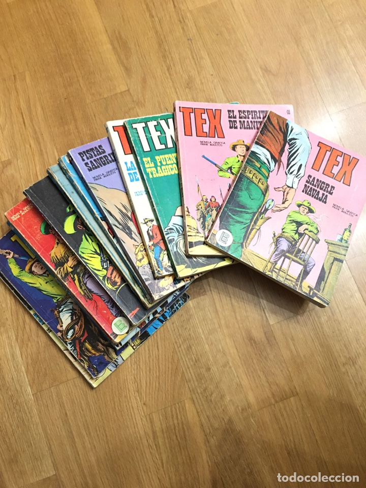 TEX - BURU LAN - 12 NÚMEROS (Tebeos y Comics - Buru-Lan - Tex)