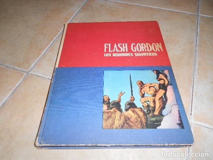 FLASH GORDON , TOMO Nº 2. HEROES DEL COMIC . LOS HOMBRES SELVATICOS. (Tebeos y Comics - Buru-Lan - Flash Gordon)
