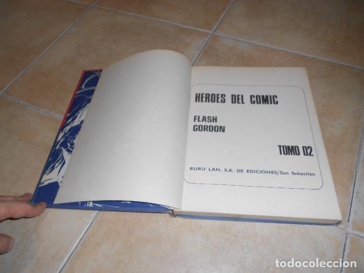 Cómics: FLASH GORDON , TOMO Nº 2. HEROES DEL COMIC . LOS HOMBRES SELVATICOS. - Foto 3 - 182870993