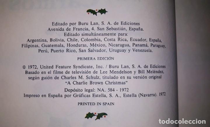 Cómics: ES NAVIDAD CARLITOS EDICIONES BURULAN PRIMERA EDICION AÑO 1972 ORIGINAL - Foto 2 - 182947916
