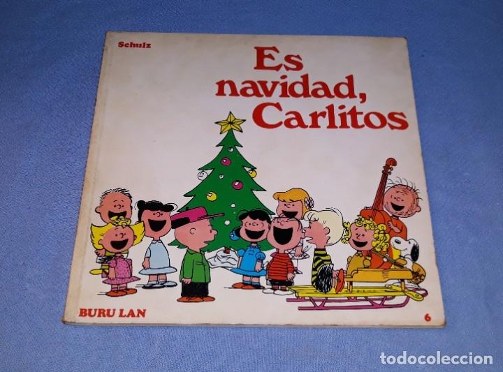 ES NAVIDAD CARLITOS EDICIONES BURULAN PRIMERA EDICION AÑO 1972 ORIGINAL (Tebeos y Comics - Buru-Lan - Otros)