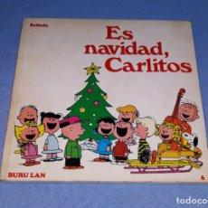 Cómics: ES NAVIDAD CARLITOS EDICIONES BURULAN PRIMERA EDICION AÑO 1972 ORIGINAL. Lote 182947916