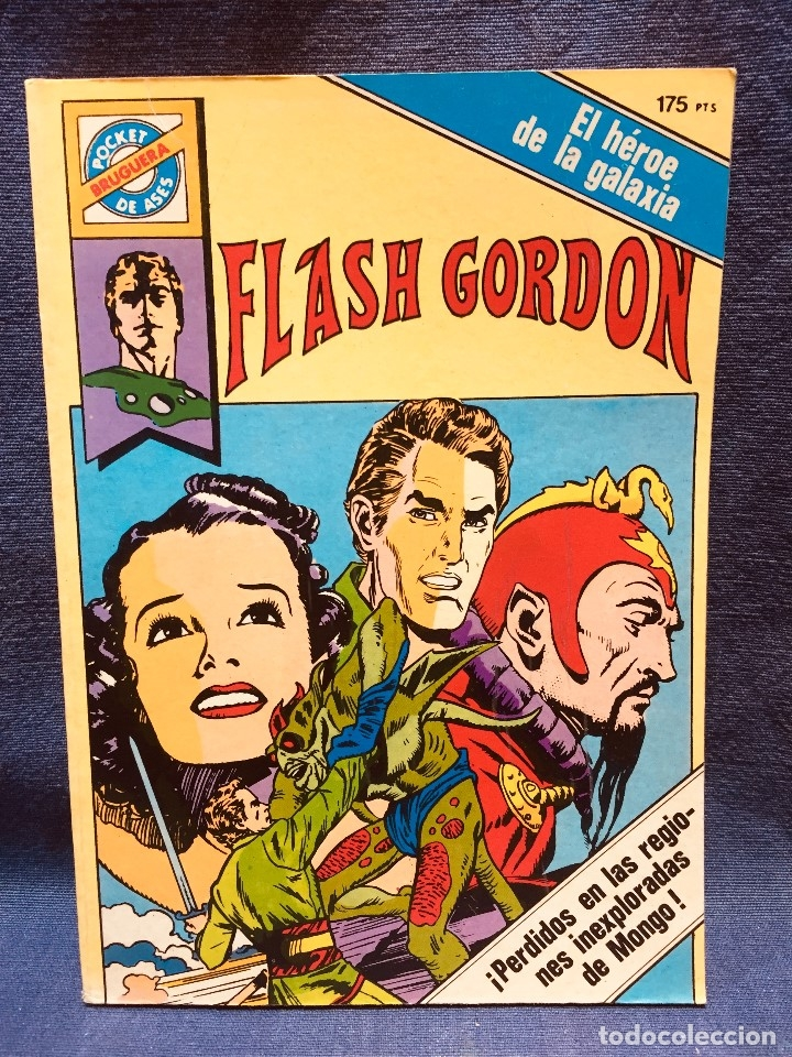 FLASH GORDON HÉROE GALAXIA DAN BARRY POCKET DE ASES BOLSILLO A COLOR Nº 31 (Tebeos y Comics - Buru-Lan - Flash Gordon)