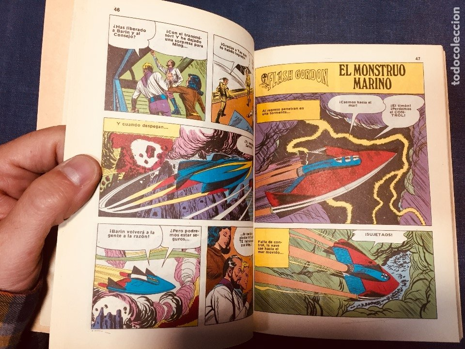 Cómics: FLASH GORDON HÉROE GALAXIA DAN BARRY POCKET DE ASES BOLSILLO a color Nº 31 - Foto 7 - 183168362
