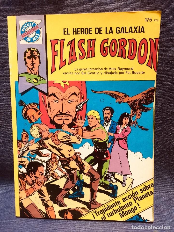 FLASH GORDON HÉROE GALAXIA DAN BERRY POCKET DE ASES BOLSILLO AÑOS 80 Nº 34 (Tebeos y Comics - Buru-Lan - Flash Gordon)
