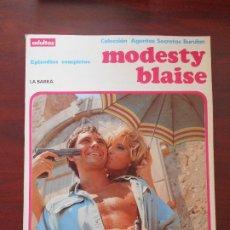 Cómics: MODESTY BLAISE Nº 1 - LA BARRA - COLECCION AGENTES SECRETOS BURULAN (CH). Lote 183273553