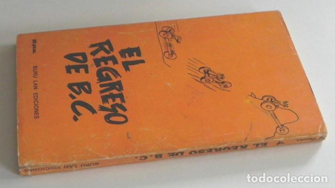 Cómics: EL REGRESO DE B.C. - LIBRO J HART HUMOR GRÁFICO - PREHISTORIA EDAD DE PIEDRA - EDICIONES BURU LAN BC - Foto 4 - 183403246