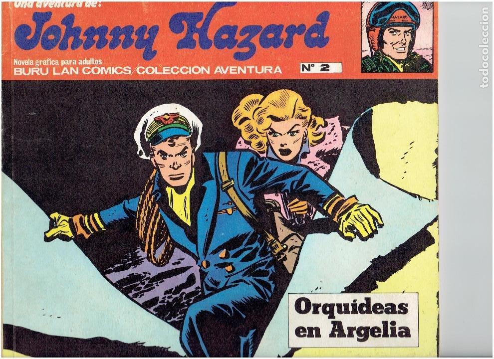 * JOHNNY HAZARD * ED. BURULAN 1973 * LOTE Nº 2, 3, 6, * EXCELENTES * (Tebeos y Comics - Buru-Lan - Otros)