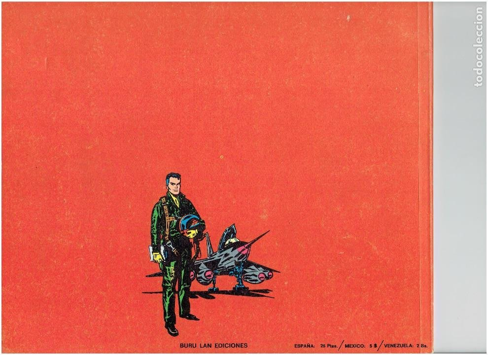 Cómics: * JOHNNY HAZARD * ED. BURULAN 1973 * LOTE Nº 2, 3, 6, * EXCELENTES * - Foto 4 - 183724277
