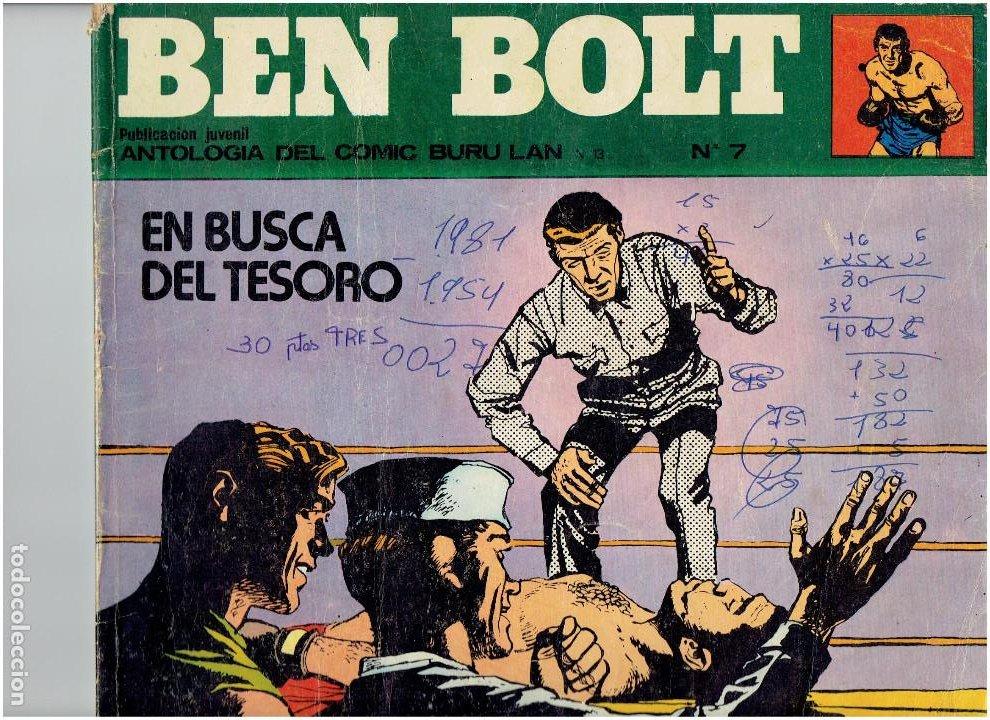 Cómics: * BEN BOLT * ED. BURULAN 1973 * LOTE Nº 3 Y 7 * - Foto 3 - 183727585