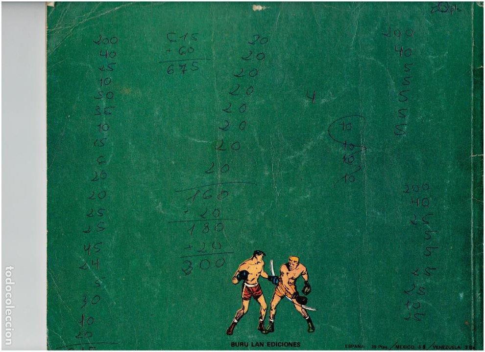 Cómics: * BEN BOLT * ED. BURULAN 1973 * LOTE Nº 3 Y 7 * - Foto 4 - 183727585