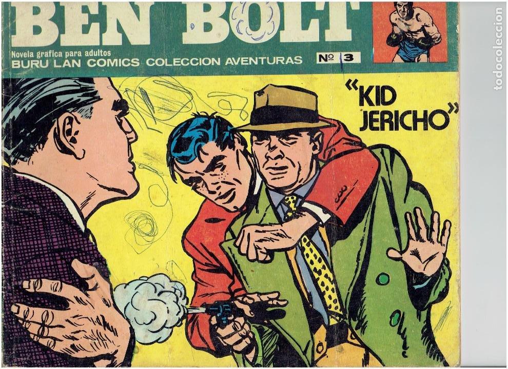 * BEN BOLT * ED. BURULAN 1973 * LOTE Nº 3 Y 7 * (Tebeos y Comics - Buru-Lan - Otros)