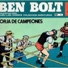 Cómics: * BEN BOLT * ED. BURULAN 1973 * LOTE Nº 1 IMPECABLE *. Lote 183728843
