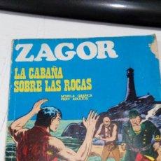 Cómics: OFERTA - ZAGOR Nº 25 - LA CABAÑA SOBRE LAS ROCAS - BURU LAN 1972. Lote 183780572