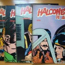 Cómics: LOTE 4 TEBEOS. HALCONES DE ACERO 1, 2, 4 Y 5. BURULAN . Lote 183813501