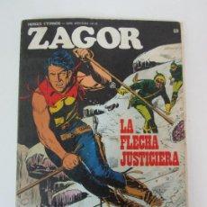 Comics : ZAGOR Nº 69 - BURU LAN - LA FLECHA JUSTICIERA - CÓMIC HÉROES ETERNOS - AÑO 1973. Lote 183878560