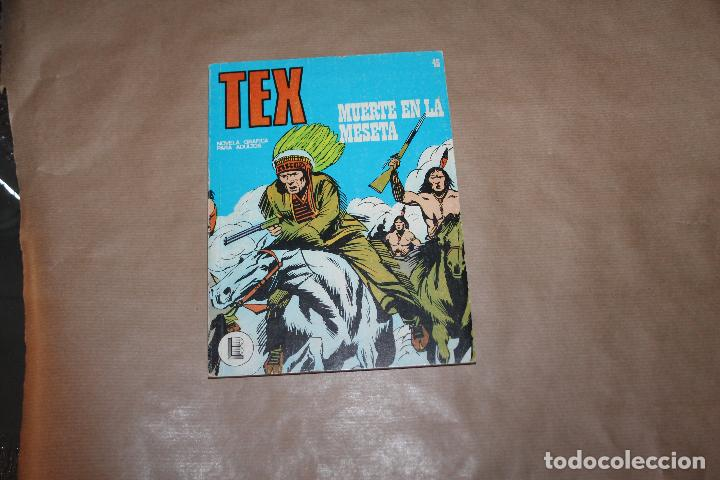 TEX Nº 45, EDITORIAL BURULAN (Tebeos y Comics - Buru-Lan - Tex)