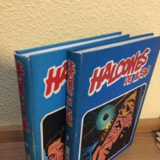 Cómics: HALCONES DE ACERO COMPLETA 2 TOMOS - BURU LAN 1974 - MUY BUEN ESTADO. Lote 184049137