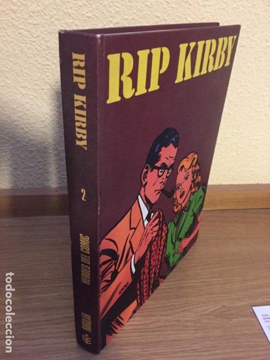 RIP KIRBY TOMO 2 - BURU LAN 1974 - ALEX RAYMOND - ¡MUY BUEN ESTADO! (Tebeos y Comics - Buru-Lan - Rip Kirby)