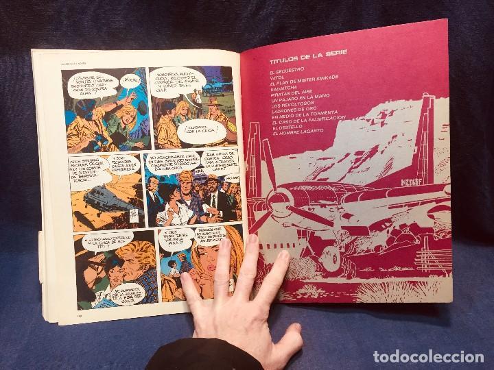 Cómics: HALCONES DE ACERO Nº 2 VETOL EL LINGOTE BURULAN 1974 EPISODIOS COMPLETOS - Foto 2 - 184117527